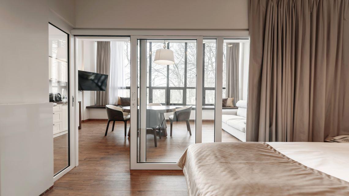 W sercu Krakowa Aparthotel. Apartament. Studio - łazienka