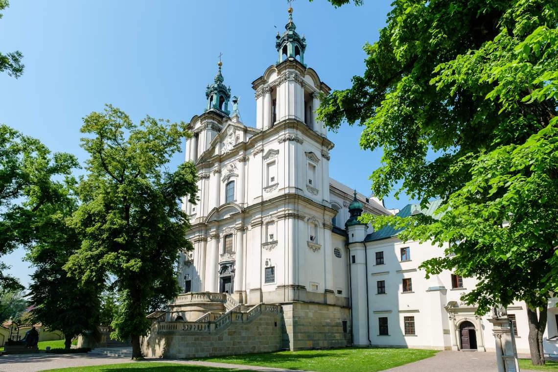 Kosciół na Skałce Kraków