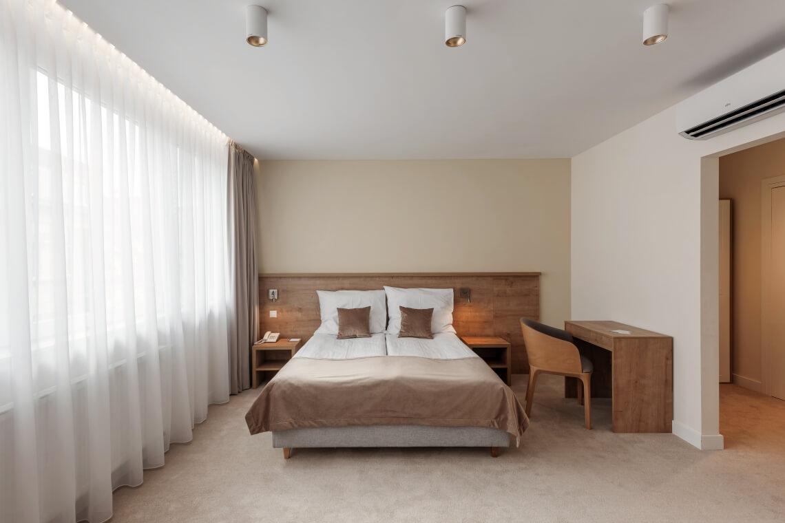 W sercu Krakowa Aparthotel. Pokój komfort